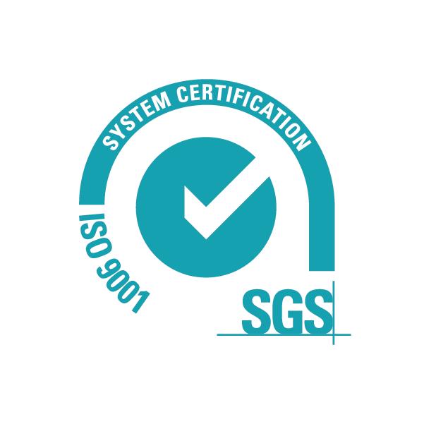 Logo SGS Iso 9001 System Certification
