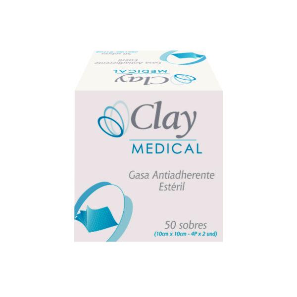 Gasa Estéril 10cm x 10cm - Clay SA
