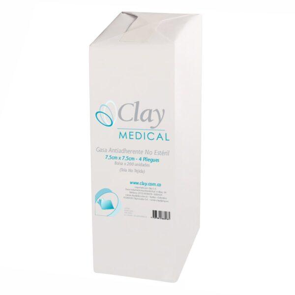 Gasa No Estéril 7,5cm x 7,5cm - Clay SA